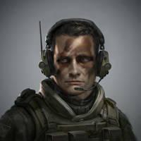 Military Portrait 1 by MitchellMohrhauser
