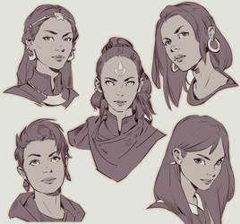 Faces 2 by MitchellMohrhauser