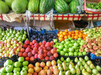 Summer fruits by charmingyuri