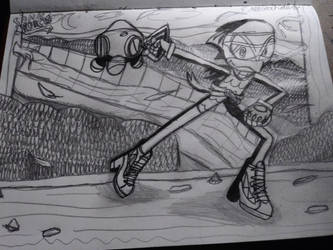 my awesome sonic character masterpiece not colored by phantomwinds1718