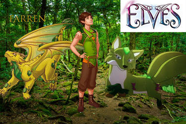 Lego Elves Farren And His Creatures by phantomwinds1718