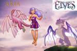 lego elves-Aria And Her Creatures by phantomwinds1718