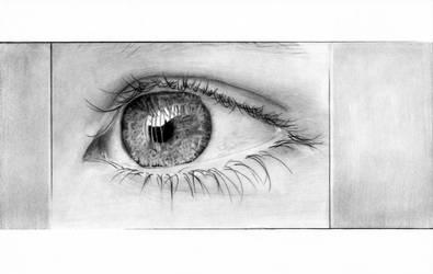 Eye for christmas by Trichardsen