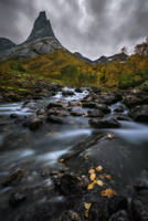 Autumn at Stetind by Trichardsen