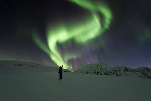 Arctic communication service by Trichardsen