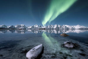 Arctic lights by Trichardsen