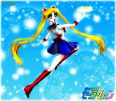 Sailor Moon: Moon Tiara Action by TRXNALARA