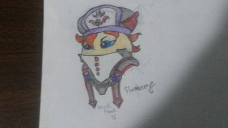 Flamberge by Featherflamestar