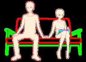 Just Be Friends Base by UTAU-pixels