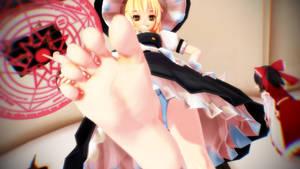 Marisa's shrinking magic by Sad-Bag