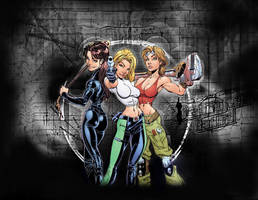 Danger Girls Wallpaper by LarA777