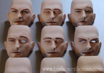Logan Faces,... by BishonenHouse