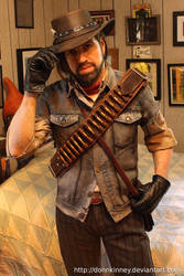 John Marston cosplay (work in progress) by BishonenHouse