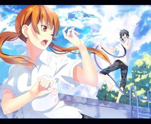 Shizuku and Haru by TempestDH