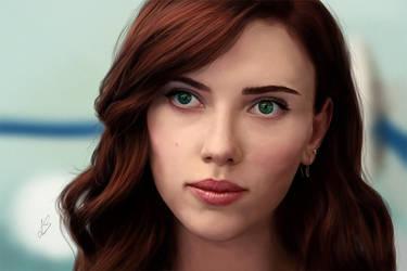 Natasha Romanoff - Scarlett Johansson by Unam-et-solum