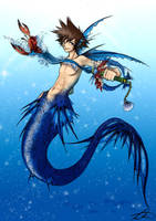 KH - Sora Atlantica by Cowslip