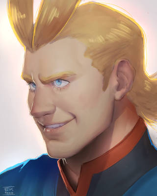 YOUNG ALL MIGHT by EK9000