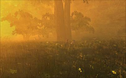 Enchanted Glade by ilyraChardin
