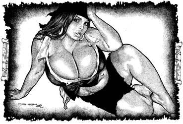 Pirate Babe 5 by CrushArt2014