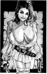 Pirate Babe 6 by CrushArt2014