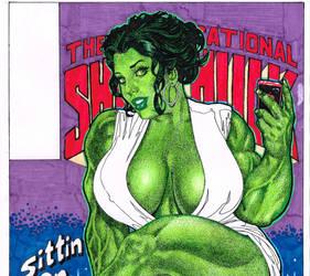She Hulk Part 1 by CrushArt2014
