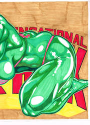 Full Color She Hulk 2 by CrushArt2014