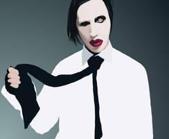 Marilyn Manson by ChewedKandi