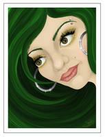 Green Glitter by ChewedKandi