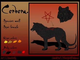 Cerbera_ref_sheet by AneriWolfy