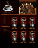 Coffee Interface by 5p34k
