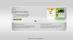 Slider Layout - Free PSD by 5p34k