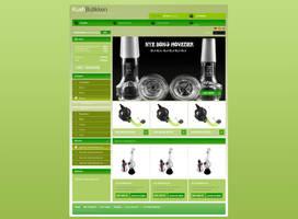 Smoking-store Webdesign v2 by 5p34k