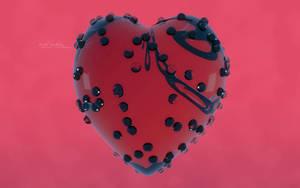 Cherry Heart by 5p34k