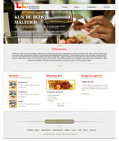 Catering - Free PSD by 5p34k