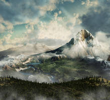Mountain by 5p34k