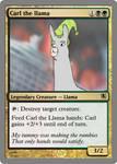 Carl the llama by theUNDEADSHARK