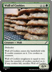 Wall of Cookies by theUNDEADSHARK