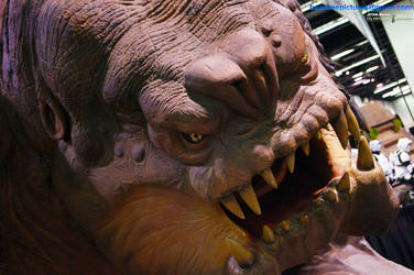 Star Wars Celebration - Rancor by JimCorrigan