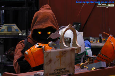 Star Wars Celebration - Jawas at work 05 by JimCorrigan