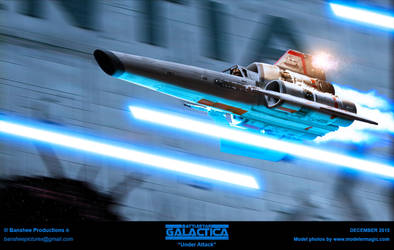 Battlestar Galactica - Under Attack by JimCorrigan