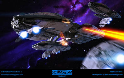 Battlestar Galactica - Ambush by JimCorrigan