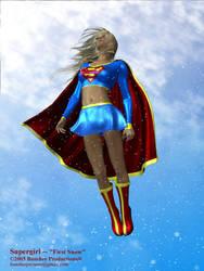 Supergirl - 'First Snow' by JimCorrigan