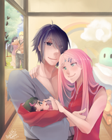Uchiha Family | Commission by PuRpLekHoUkHa