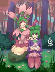 Pokemon Cherrim by YolyoeIkal
