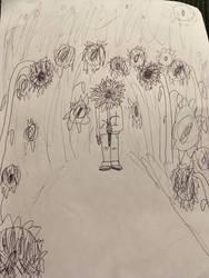 The Sunflower Man by LegendWeaver25