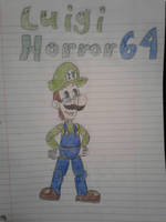 It's a me, LuigiHorror64!! by LuigiHorror64
