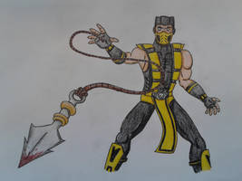 Mortal Kombat: Scorpion by LuigiHorror64