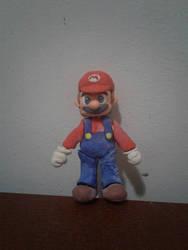 Mario Play Doh model by LuigiHorror64