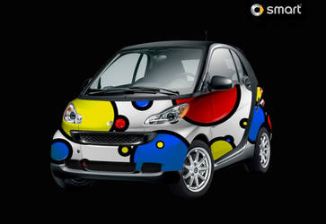 Bubble Smart Car by NathanielBart
