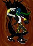 Prehistoric Paranoia by Rillid